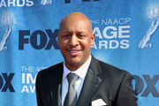 Singer Brian Courtney Wilson arrives at the 42nd NAACP Image Awards held at The Shrine Auditorium on March 4, 2011 in Los Angeles, California.