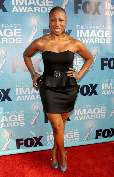 Actress Aisha Hinds  arrives at the 42nd NAACP Image Awards held at The Shrine Auditorium on March 4, 2011 in Los Angeles, California.