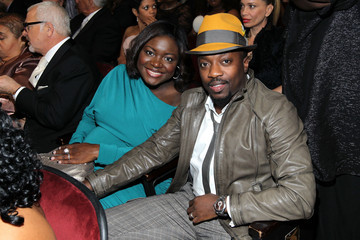Anthony Hamilton Tarsha McMillan 43rd NAACP Image Awards - Backstage And Audience