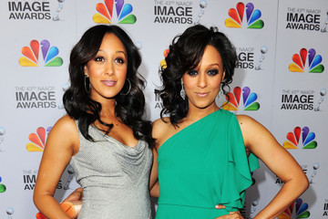 Tamera Mowry-Housley 43rd NAACP Image Awards - Red Carpet
