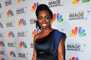 Actress Adepero Oduye arrives at the 43rd NAACP Image Awards held at The Shrine Auditorium on February 17, 2012 in Los Angeles, California.