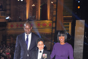 Dennis Haysbert Michelle Howard Photos Photo