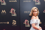 Adrienne Bailon attends the 46th annual Daytime Emmy Awards at Pasadena Civic Center on May 05, 2019 in Pasadena, California.