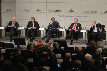George Soros Mario Monti 48th Munich Security Conference