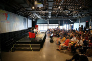 A general view of the atmosphere during 'The Time is Now' panel at the 4th Annual Bentonville Film Festival - Day 5 on May 5, 2018 in Bentonville, Arkansas.