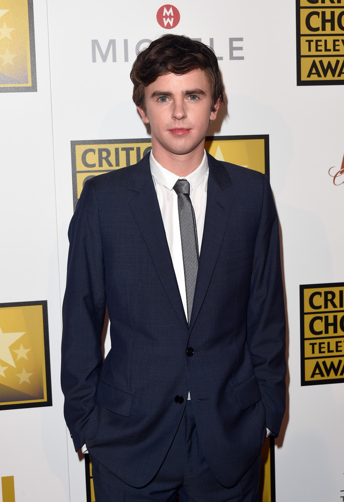 Freddie highmore photos photos arrivals at the critics for Freddie highmore movies and tv shows