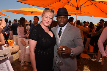 50 Cent The Eighth-Annual Veuve Clicquot Polo Classic - VIP