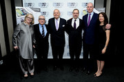 (L-R) Helen Scorsese, Martin Scorsese, Robert B. Silvers, David Tedeschi, Rea Hederman, and Margaret Bodde attend the 'The 50 Year Argument' premiere during the 52nd New York Film Festival at Walter Reade Theater on September 28, 2014 in New York City.