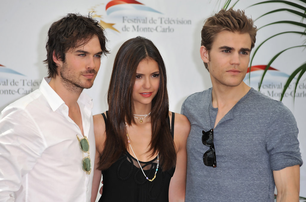 Paul Wesley and Nina Dobrev Photos Photos - 50th Monte ...