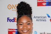Laya DeLeon Hayes attends the 50th NAACP Image Awards Non-Televised Dinner at Beverly Hilton Hotel on March 29, 2019 in Beverly Hills, California.
