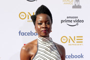 Danai Gurira attends the 50th NAACP Image Awards at Dolby Theatre on March 30, 2019 in Hollywood, California.