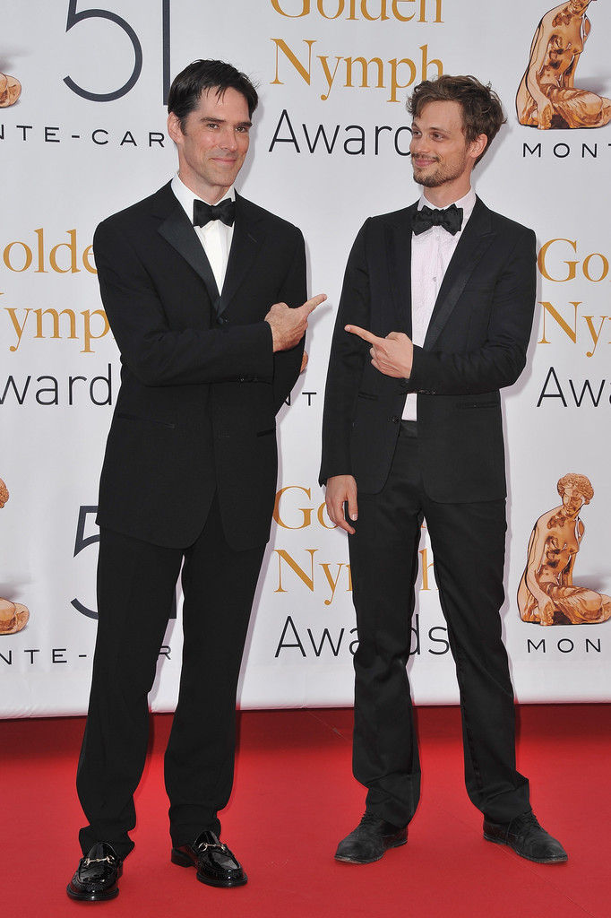 Thomas Gibson Matthew Gray Gubler Photos Photos - 51st ...