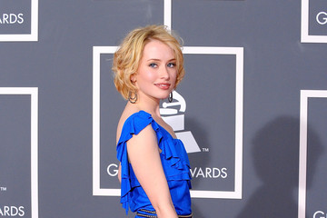 Alexis Grace 52nd Annual GRAMMY Awards - Arrivals