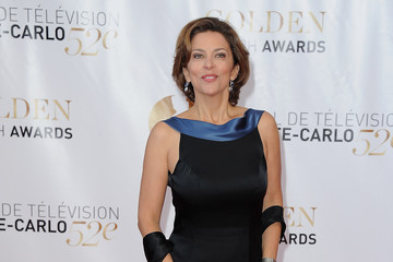 Corinne Touzet 52nd Monte Carlo TV Festival Closing Ceremony - Golden Nymph Award