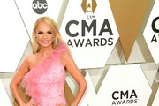 (FOR EDITORIAL USE ONLY) Kristin Chenoweth attends the 53rd annual CMA Awards at the Music City Center on November 13, 2019 in Nashville, Tennessee.