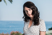 This image was processed using digital filters) Robin Tunney poses at a portrait session during the 53rd Monte-Carlo TV Festival at Grimaldi Forum on June 12, 2013 in Monaco, Monaco.