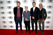 "Director Nanni Moretti, Lesi Klainberg, actor John Turturro and Domenico Procacci attend the  53rd New York Film Festival - ""Mia Madre"" Screening And Q&AAlice Tully Hall, Lincoln Center on September 27, 2015 in New York City."