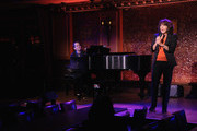 Pianist Seth Rudetsky and Comedian Andrea Martin perform during the press preview at 54 Below on October 4, 2012 in New York City.