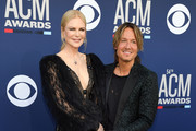 (L-R) Nicole Kidman and Keith Urban attend the 54th Academy Of Country Music Awards at MGM Grand Hotel & Casino on April 07, 2019 in Las Vegas, Nevada.