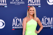 Miranda Lambert attends the 54th Academy Of Country Music Awards at MGM Grand Hotel & Casino on April 07, 2019 in Las Vegas, Nevada.