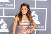 Zarah arrives at the 54th Annual GRAMMY Awards held at Staples Center on February 12, 2012 in Los Angeles, California.