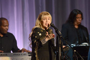 Artist Stevie Nicks performs at the 55th Annual Women's Guild Cedars-Sinai Gala on November 13, 2012 in Beverly Hills, California.