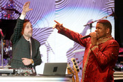Recording artist Ryan Lewis (L) and singer Ray Dalton perform onstage during the 56th annual GRAMMY Awards  Pre-GRAMMY Gala and Salute to Industry Icons honoring Lucian Grainge at The Beverly Hilton on January 25, 2014 in Beverly Hills, California.