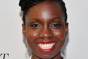 """Adepero Oduye attends the """"If Beale Street Could Talk"""" U.S. premiere during the 56th New York Film Festival at The Apollo Theater on October 09, 2018 in New York City."""