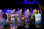 (L-R) Garth Brooks, Carrie Underwood and Paul Williams, Randy Travis and Mary Davis speak onstage during the 57th Annual ASCAP Country Music Awards on November 11, 2019 in Nashville, Tennessee.