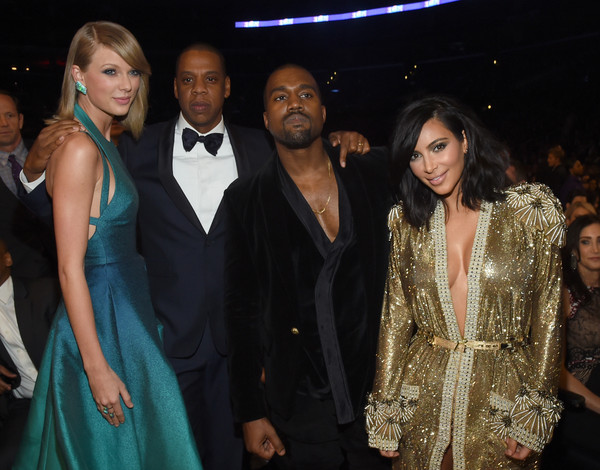 Taylor Swift Towering Over Other People