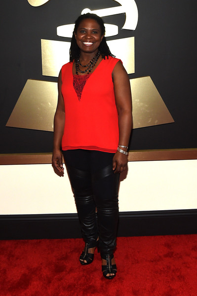 Singer Ruthie Foster attends The 57th Annual GRAMMY Awards at the STAPLES Center on February 8, 2015 in Los Angeles, California.