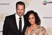 Jason Lewis and Dawn-Lyen Gardner attend the 57th Annual ICG Publicists Awards at The Beverly Hilton Hotel on February 07, 2020 in Beverly Hills, California.
