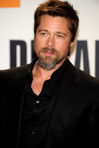 "Brad Pitt Actor Brad Pitt attends ""Inglorious Basterds"" premiere at Victoria Eugenia Theater during the 57th San Sebastian International Film Festival on September 18, 2009 in San Sebastian, Spain."