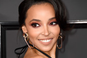 Singer-songwriter Tinashe attends The 59th GRAMMY Awards at STAPLES Center on February 12, 2017 in Los Angeles, California.