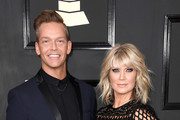 Musician Bernie Herms and singer Natalie Grant attend The 59th GRAMMY Awards at STAPLES Center on February 12, 2017 in Los Angeles, California.