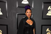 Singer Lalah Hathaway attends The 59th GRAMMY Awards at STAPLES Center on February 12, 2017 in Los Angeles, California.