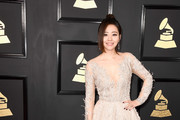 Singer Jane Zhang attends The 59th GRAMMY Awards at STAPLES Center on February 12, 2017 in Los Angeles, California.