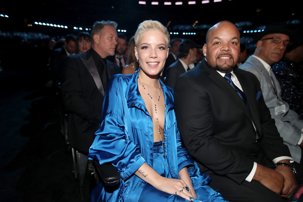 Halsey In The 59th Grammy Awards Roaming Show Zimbio