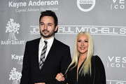 Professional dancer Matthew Rutler and recording artist Christina Aguilera attends the 5th Annual Baby2Baby Gala at 3LABS on November 12, 2016 in Culver City, California.