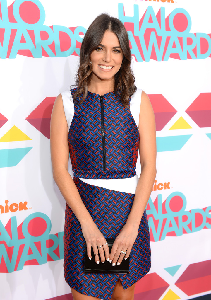 Actress Nikki Reed arrives at the 5th Annual TeenNick HALO Awards at Hollywood Palladium on November 17, 2013 in Hollywood, California.