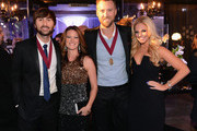Dave Haywood, Kelli Cashiola, Charles Kelley, and Cassie McConnell attend the 60th Annual BMI Country Awards at BMI on October 30, 2012 in Nashville, Tennessee.