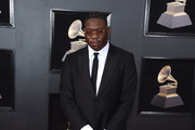 Recording artist Tunji Ige attends the 60th Annual GRAMMY Awards at Madison Square Garden on January 28, 2018 in New York City.