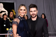 Karen Martinez and recording artist Juanes attend the 60th Annual GRAMMY Awards at Madison Square Garden on January 28, 2018 in New York City.