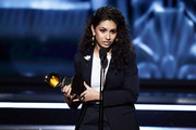 Recording artist Alessia Cara accepts Best New Artist onstage during the 60th Annual GRAMMY Awards at Madison Square Garden on January 28, 2018 in New York City.