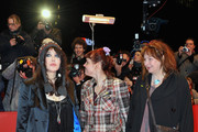 (L-R) Actress Isabelle Adjani, actress Miss Ming and actress Yolande Moreau attend the 'Mammuth' Premiere during day nine of the 60th Berlin International Film Festival at the Berlinale Palast on February 19, 2010 in Berlin, Germany.
