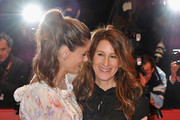 (L-R) Actress Amanda Peet and director Nicole Holofcener attend the 'Please Give' Premiere during day six of the 60th Berlin International Film Festival at the Berlinale Palast on February 16, 2010 in Berlin, Germany.