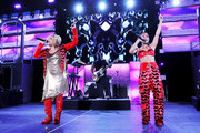Tionne 'T-Boz' Watkins and Rozonda 'Chilli' Thomas of TLC perform onstage at the GRAMMY Celebration durring the 61st Annual GRAMMY Award at Staples Center on February 10, 2019 in Los Angeles, California.