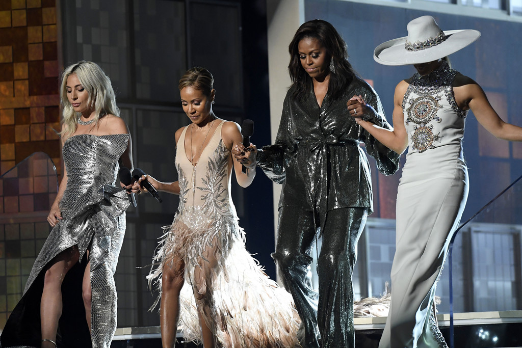 Image result for Michelle Obama at the grammys