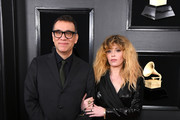 Fred Armisen and Natasha Lyonne attend the 61st Annual GRAMMY Awards at Staples Center on February 10, 2019 in Los Angeles, California.