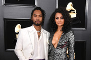 Miguel (L) and Nazanin Mandi attend the 61st Annual GRAMMY Awards at Staples Center on February 10, 2019 in Los Angeles, California.